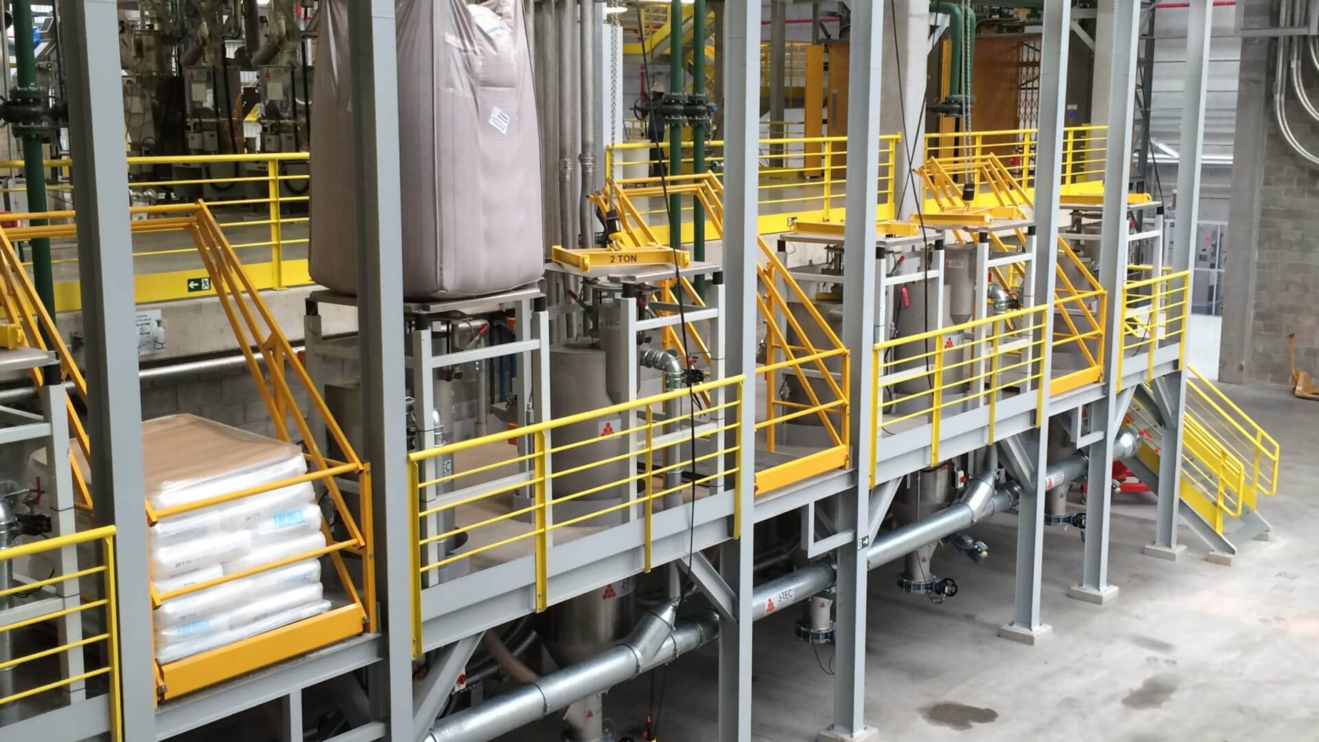 Solids and liquids handling for key players in the food and chemical industries